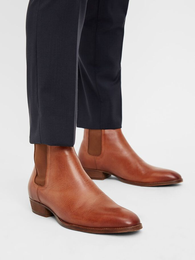 BIABECK CHELSEA BOOTS, Brandy, large