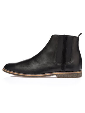 MEN'S CHELSEA W/STRIPE BOOTS