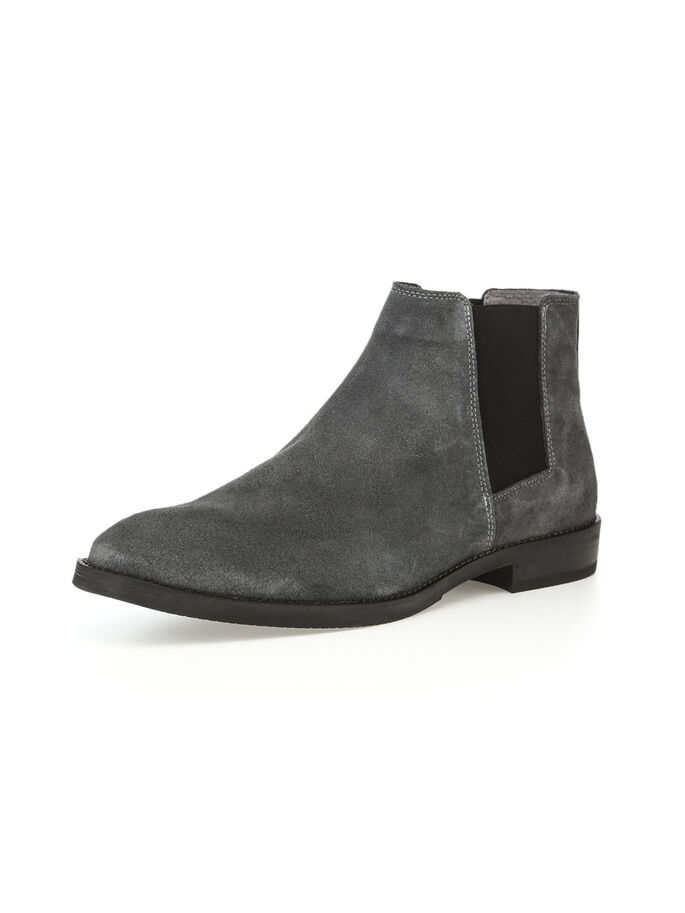 MEN'S CHELSEA BOOTS, Grey, large