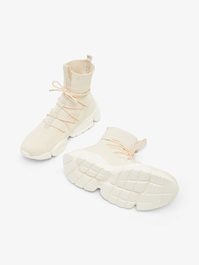 BIADENISA HIGH TOP TRAINERS, Offwhite4, large