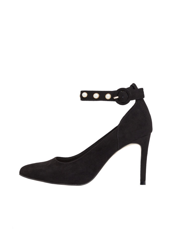 KNÖCHELRIEMEN PUMPS, Black, large