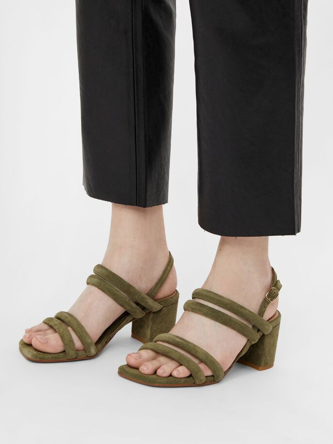 BIABEONNA STRAP SANDALS, Pale Green 1, large