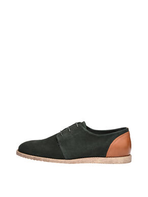 MEN'S SUEDE DERBY SHOES
