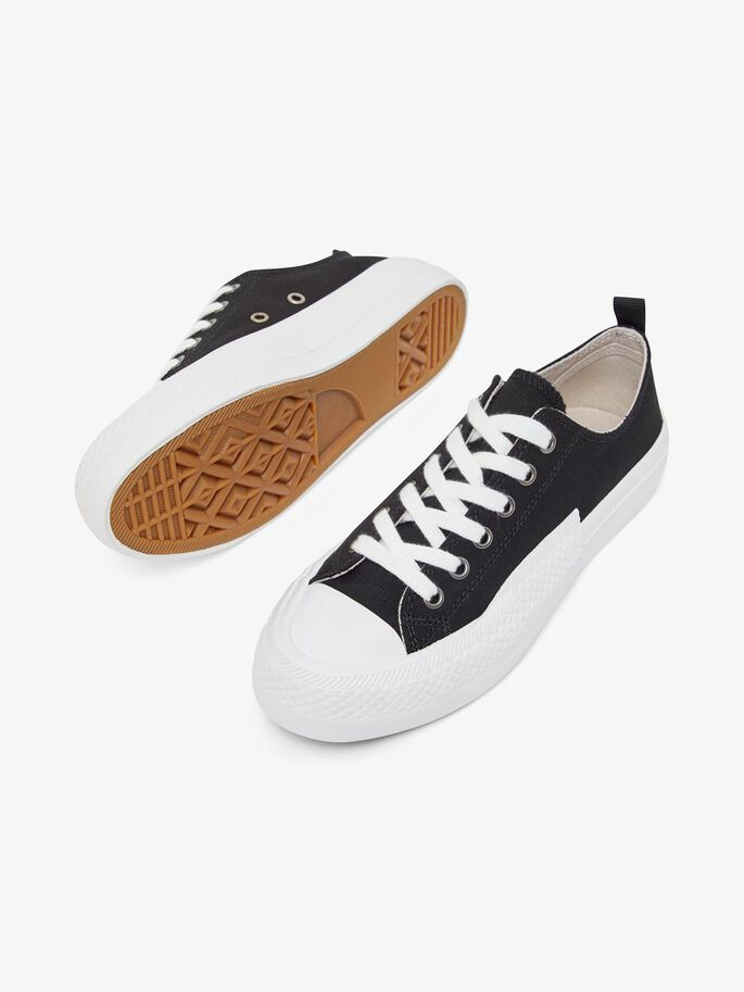 BIADALE CANVAS SNEAKERS, Black4, large