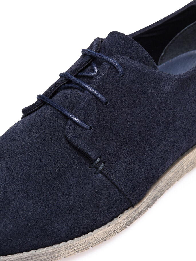 DAIM LACETS CHAUSSURES DERBY, Navy Blue, large