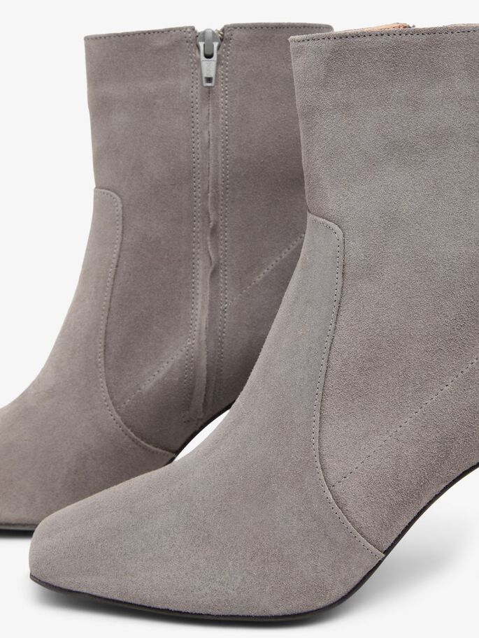 BIADELOIS ZIPPER BOOTS, LightGrey1, large