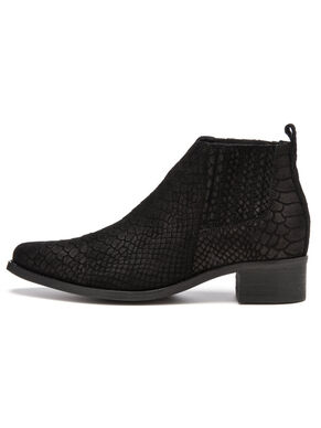 LOW CUT REPTILE BOOTS