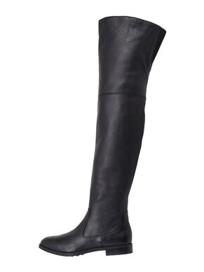 OVERKNEE LEATHER BOOTS