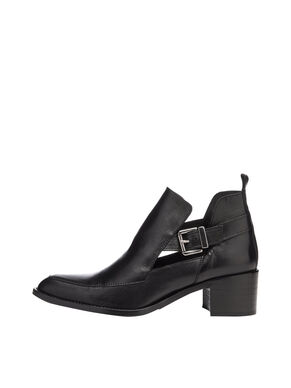 OPEN BUCKLE BOOTS