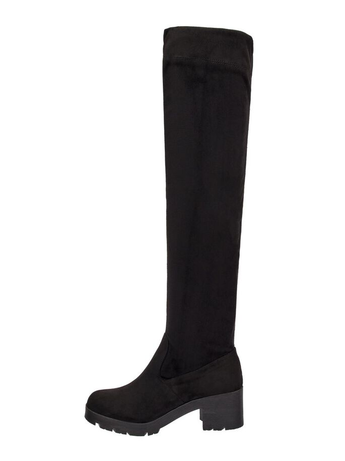 6cec7e82a72 Ana suede over-the-knee boots
