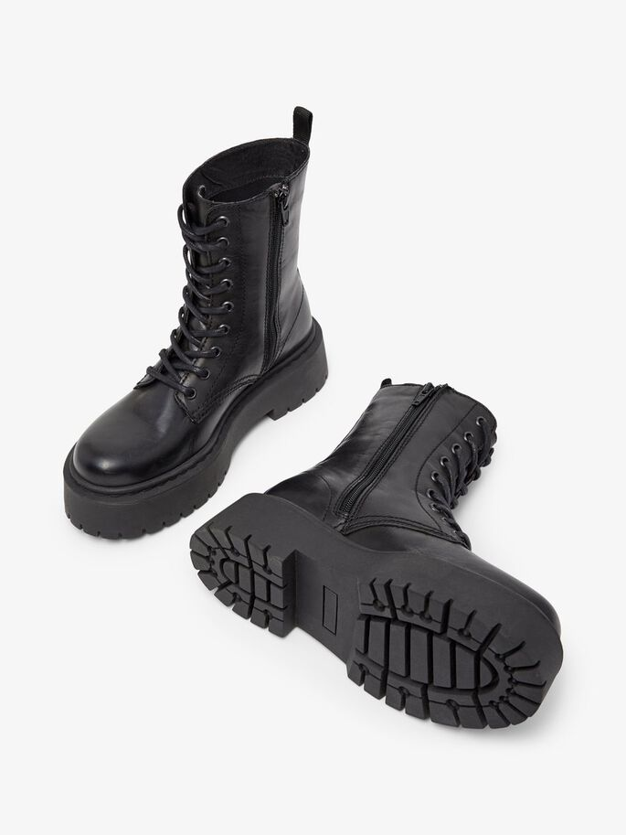 BIADEB LACE-UP BOOTS, Black, large