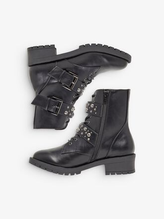 BIACLAIRE STUD BELT WIDE FIT BOOTS