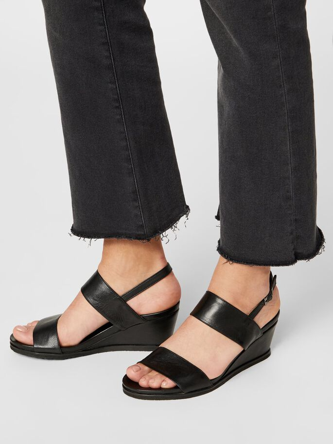 BIACAILY WEDGES, Black, large